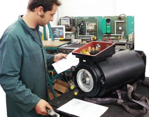 Réparation moteur brushless