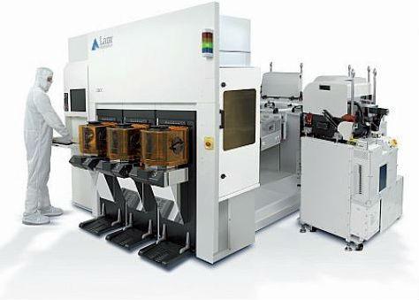 Machine domaine de la microélectronique