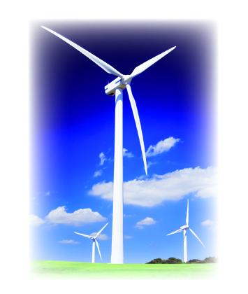 Champ éoliennes