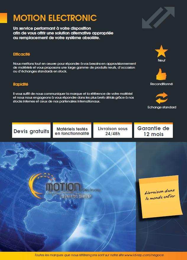 Vente de matériels neufs, reconditionnés et échanges standards