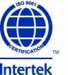 INTERTEK - Certification ISO 9001